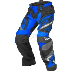 FXR Racing Black/Navy/White Cold Cross Race Ready Pants - 180115-4045-16