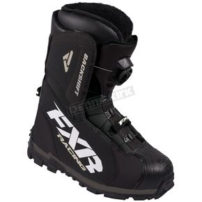 FXR Racing Black Backshift Boa Boots - 16503.10008