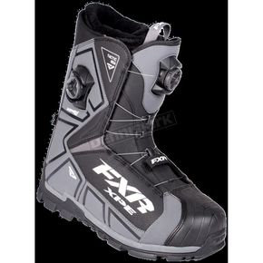 FXR Racing Black Tactic Dual Zone Boots - 180700-1000-45