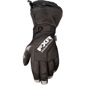 FXR Racing Black Attack Lite Gauntlet Glove - 180808-1000-22