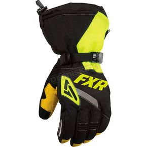 FXR Racing Black/Hi-Vis CX Gloves - 15607.70116