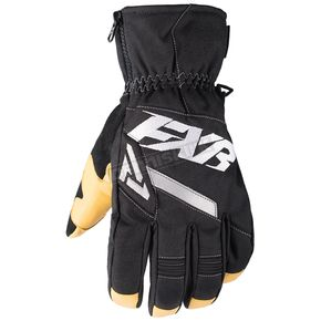 FXR Racing Black CX Short Cuff Glove - 180804-1000-19
