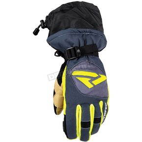 FXR Racing Black/Hi-Vis Transfer Glove - 15623.70116