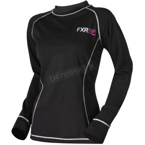 FXR Racing Women's 20% Merino Vapour Long Sleeve Shirt - 181417-1090-19
