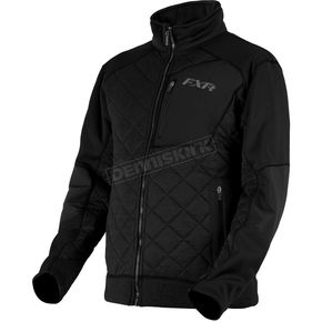 FXR Racing Burner Sherpa Tech Zip-Up Jacket - 180901-1010-13