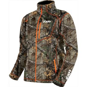 FXR Racing Realtree Xtra/Orange Elevation Tech Zip Up - 181100-1630-13