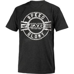 FXR Racing Black/White Freedom T-Shirt - 181306-1001-13