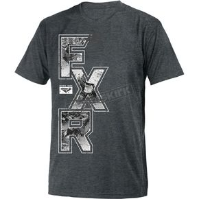 FXR Racing Charcoal Independent T-Shirt - 181301-0800-13