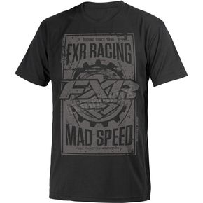 FXR Racing Black Ops Mad Speed T-Shirt - 181302-1010-16