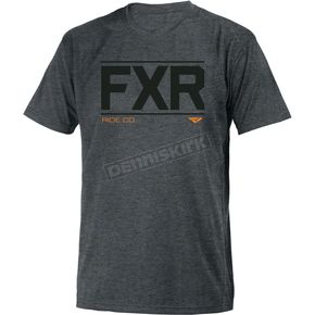 FXR Racing Gray Heather Ride Co. T-Shirt - 181305-0700-16
