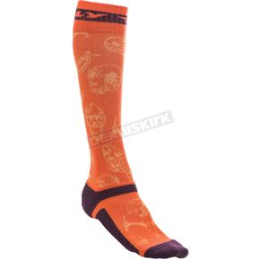Fly Racing Orange MX Pro Thin Socks - 350-0418S