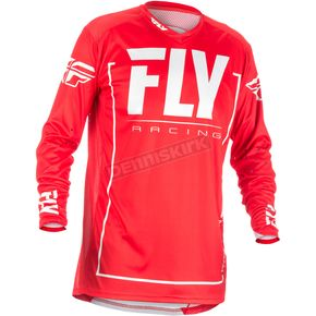 Fly Racing Red/Gray Lite Hydrogen Jersey - 371-7222X