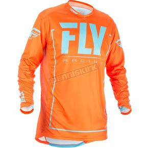 Fly Racing Orange/Blue Lite Hydrogen Jersey - 371-7282X