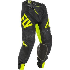 Fly Racing Hi-Vis/Black Lite Hydrogen Pants - 371-73028