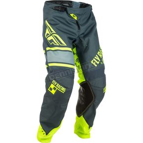 Fly Racing Gray/Hi-Vis Kinetic Era Pants - 371-43940