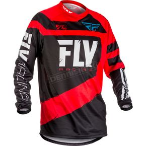 Fly Racing Red/Black F-16 Jersey - 371-922X