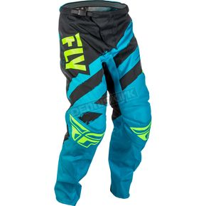 Fly Racing Blue/Black F-16 Pants - 371-93132