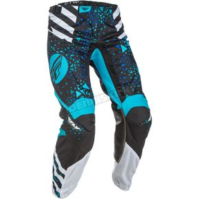 Fly Racing Women's Blue/Black Kinetic Pants - 371-63107