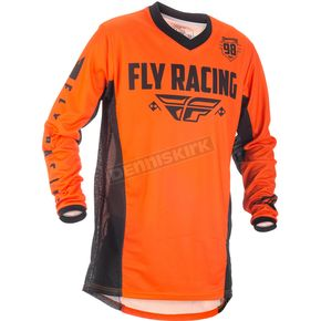 Fly Racing Black/Orange Patrol Jersey - 371-6493X