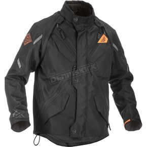 Fly Racing Black/Orange Patrol Jacket - 371-680X