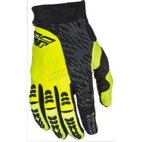 Fly Racing Hi-Vis/Black Evolution 2.0 Gloves - 371-11009