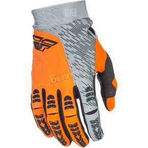 Fly Racing Gray/Orange Evolution 2.0 Gloves - 371-11808