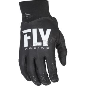 Fly Racing Black Pro Lite Gloves - 371-81008