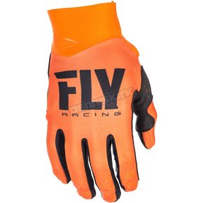 Fly Racing Orange Pro Lite Gloves - 371-81812