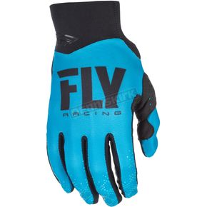 Fly Racing Blue Pro Lite Gloves - 371-81109