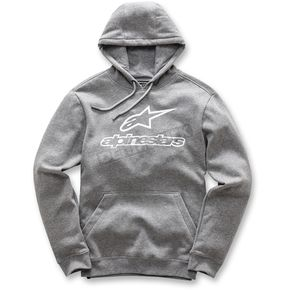 Alpinestars Charcoal Gray Always Pullover Fleece Hoody - 101752006191L