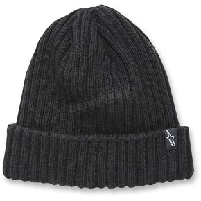 Alpinestars Black Receiving Beanie - 1037-81504-10