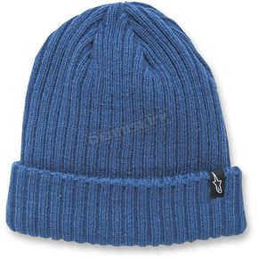 Alpinestars Blue Receiving Beanie - 1037-81504-72