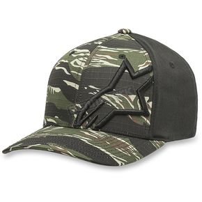 Alpinestars Military Green Corp Camo Hat - 102781022690SM