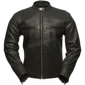 First Manufacturing Co. Turbine Perforated Leather Jacket - FIM-213-CNP-S