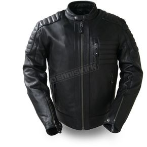 First Manufacturing Co. Defender Leather Jacket - FIM-293-CHRZ-XL