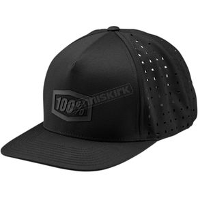 100% Black Palace Snapback Hat  - 20059-001-01