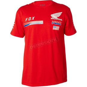 Fox Honda HRC USA T-Shirt - 20824-003-S