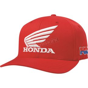 Fox Honda HRC USA FlexFit Hat - 20825-003-L/XL