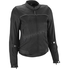 Highway 21 Women's Black Aira Mesh Jacket - 489-14013X