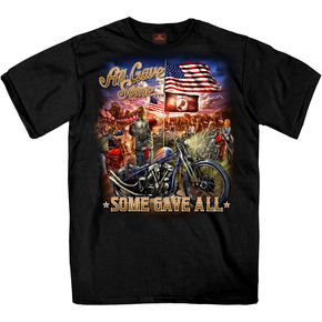 Black Remembrance All Gave Some T-Shirt - GMS1407L