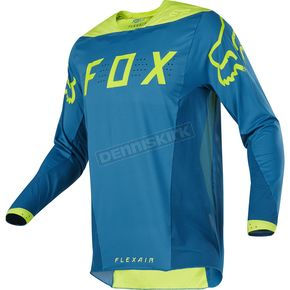 Fox Teal Flexair Moth Limited Edition Jersey - 17237-176-XL