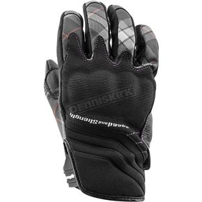 Speed and Strength Women's Black Cross My Heart Gloves - 884510