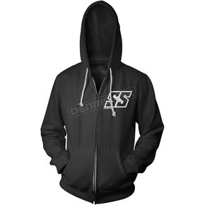 Speed and Strength Black Corporate Zip Hoody - 884568