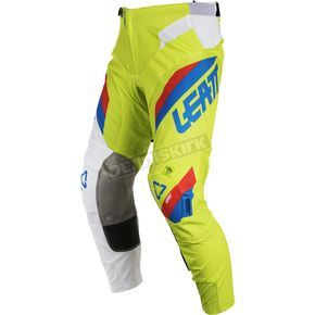 Leatt Lime/White GPX 5.5 I.K.S. Pants - 5018750534