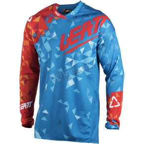Leatt Blue/Red GPX 4.5 Lite Jersey - 5018700204