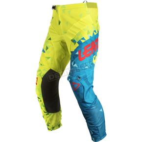 Leatt Junior/Kids Lime/Teal GPX 2.5 Pants - 5018750664