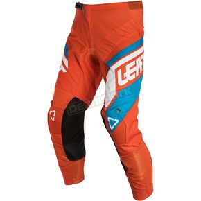 Leatt Junior/Kids Orange/Denim GPX 2.5 Pants - 5018750670