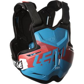 Leatt Blue/Red 2.5 Rox Chest Protector - 5018100150