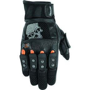 Black Brand Black Mirror Buster Gloves - BB7259
