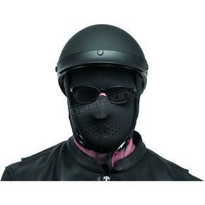 Black Brand Black Neoprene Full-Face Mask - BB9801